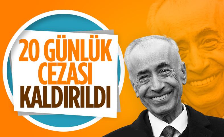 Tahkim Kurulu Mustafa Cengiz'in cezasını kaldırdı