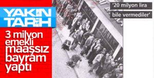 Türkiye'de parasız geçen bayram