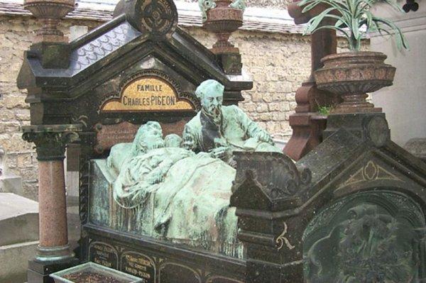 Ünlülerin mezarlığı Pere Lachaise #1