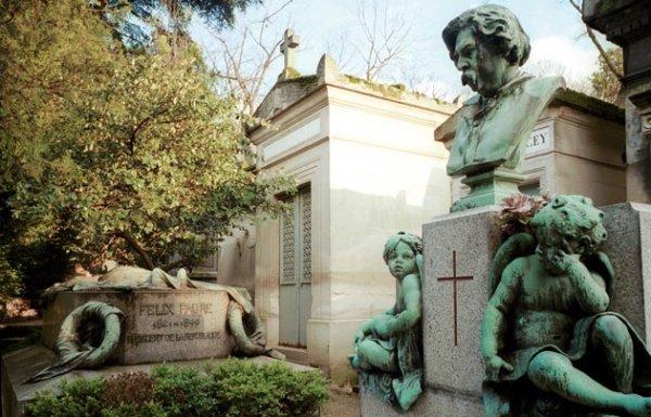 Ünlülerin mezarlığı Pere Lachaise #3