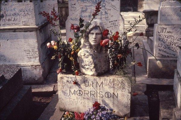 Ünlülerin mezarlığı Pere Lachaise #7